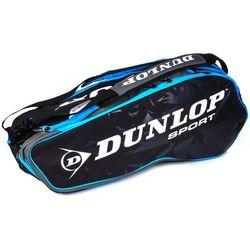 Dunlop Performance 8 Racket Bag Black Blue