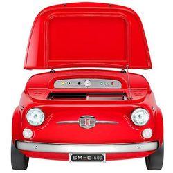 Smeg - Minibarek SMEG500R Czerwony