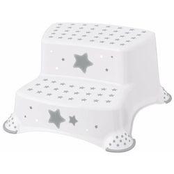 Keeper Schodki dla dzieci Stars, biały, 40 x 37 x 21 cm