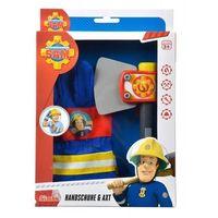Pozostałe zabawki, SIMBA Strażak Sam Rękawice + Toporek