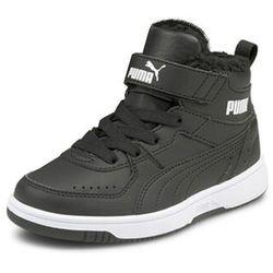 Sneakersy Rebound Joy Fur PS 375479 01 Czarny
