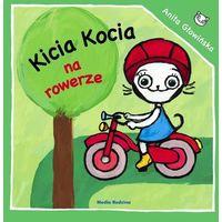 Książki dla dzieci, Kicia Kocia na rowerze - Anita Głowińska (opr. miękka)