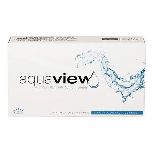 Soczewki kontaktowe, AquaView Monthly 3 szt.