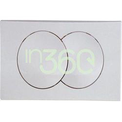 Geberit Delta20 Przycisk uruchamiający przedni do spłuczek podtynk. UP100, chrom mat. 115.100.46.1