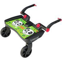 Dostawki do wózków, Lascal Dostawka do wózka Buggy Board Panda, kolor zielony - BEZPŁATNY ODBIÓR: WROCŁAW!