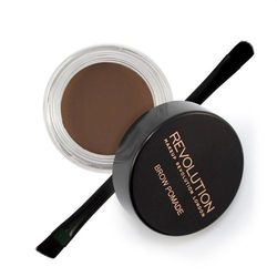 Makeup Revolution London Brow Pomade regulacja brwi 2,5 g dla kobiet Dark Brown