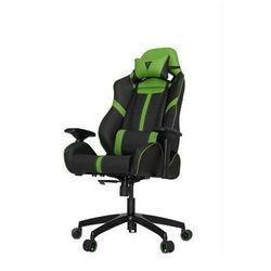 Vertagear S-Line SL5000 Racing Series Krzesło gamingowe - Czarno-zielony - Skóra PU - 150 kg