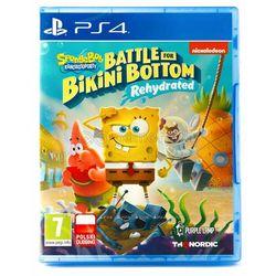 Spongebob Squarepants Battle for Bikini Bottom Rehydrated (PS4)