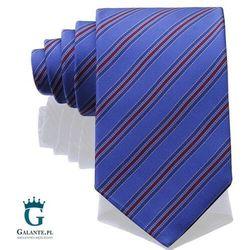Niebieski włoski krawat jedwabny 14813/3 marki Arcuri