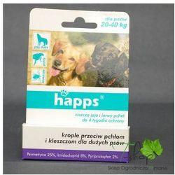 HAPPS - spot-on - krople przeciw pchłom i kleszczom dla psów dużych