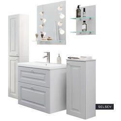 SELSEY Zestaw mebli łazienkowych Rizzos jasnoszary