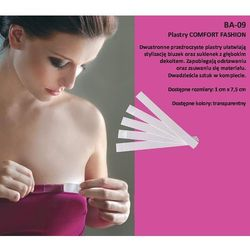 Plastry Julimex Comfort Fashion BA-09 10mm A'20 10mm, transparentny, Julimex
