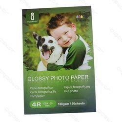 AIGOSTAR papier fotograficzny 10x15 180 g/m błyszczący do drukarek atramentowych