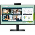 Samsung Monitor 24 cale LS24A400VEUXEN IPS FHD 16:9 5ms płaski + głośniki + Webcam 3Y