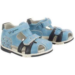 WOJTYŁKO 3S1099 niebieski, sandały dziecięce, rozmiary: 28-31 - Niebieski
