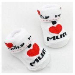 Skarpetki dla niemowlaka - I LOVE MUM