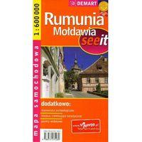 Mapy i atlasy turystyczne, Mapa samochodowa. Rumunia, Mołdawia. 1:600 000. - Praca zbiorowa (opr. miękka)