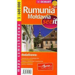 Mapa samochodowa. Rumunia, Mołdawia. 1:600 000. - Praca zbiorowa (opr. miękka)