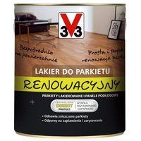 Lakiery, Lakier renowacyjny do parkietu V33 bezbarwny satynowy 0,75 l