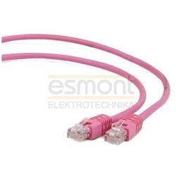 Patch cord kat.6 FTP 2M różowy Gembird
