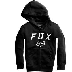 bluza FOX - Youth Legacy Moth Zip Fleece Black (001) rozmiar: YM
