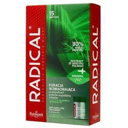 Farmona RADICAL Kuracja wzmacniająca w ampułkach przeciw wypadaniu włosów (15 x 5 ml)