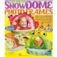Kreatywne dla dzieci, Zrób to sam - Śnieżne kule - ramki na zdjęcia - 4m