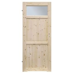 Drzwi z podcięciem Radex Lugano 70 lewe sosna surowa