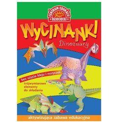 Wycinanki Dinozaury. Darmowy odbiór w niemal 100 księgarniach!