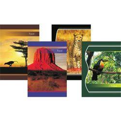 Zeszyt kartka A4 60 kartek,losowy wzór okładki - X06058