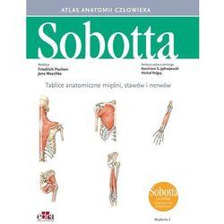 Tablice anatomiczne mięśni, stawów i nerwów. Łacińskie mianownictwo (opr. miękka)