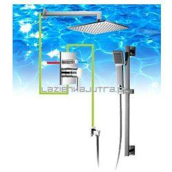 OMNIRES Kompletny system łazienkowy, podtynkowy, chrom SYS12A
