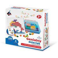 Kreatywne dla dzieci, Mozaika grzybki - 240 elementów