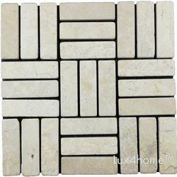 Lux4home parkiet kamień wulkaniczny biały (Gedek Style White) 30x30 cm