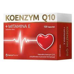 Koenzym q10 + witamina e x 120 kapsułek