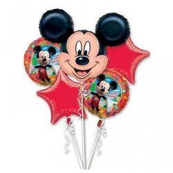 Bukiet balonów foliowych Myszka Mickey - 1 kpl.