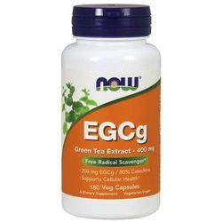 NOW Foods EGCg Green Tea Extract 400 mg 180 kaps Najlepszy produkt Najlepszy produkt tylko u nas!
