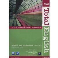 Książki do nauki języka, New Total English Pre-Intermediate Flexi Course Book 1 (opr. miękka)