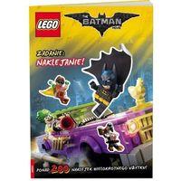 Książki dla dzieci, Lego Batman Movie. Zadanie: naklejanie! (opr. miękka)