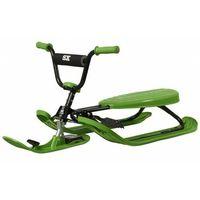 Pozostałe sporty zimowe, Nartosanki STIGA SNOWRACER SX PRO zielone - kierownica i hamulec