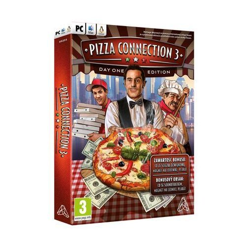 Gry na PC, PIZZA CONNECTION 3 (PC)