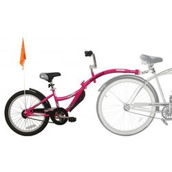 Przyczepka rowerowa WEERIDE Co-Pilot Różowy + Zamów z DOSTAWĄ JUTRO! + DARMOWY TRANSPORT!
