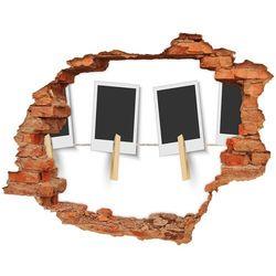 Foto zdjęcie dziura na ścianę Ramki na zdjęcia