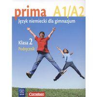 Książki do nauki języka, prima A1/A2. Język niemiecki dla gimnazjum. Klasa 2. Podręcznik - książka (opr. miękka)