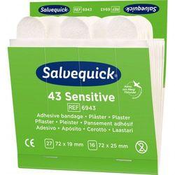Salvequick Sensitive Plaster z włókniny