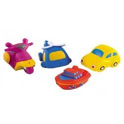 """Zabawki do kąpieli """"Transport"""" -4 szt"""