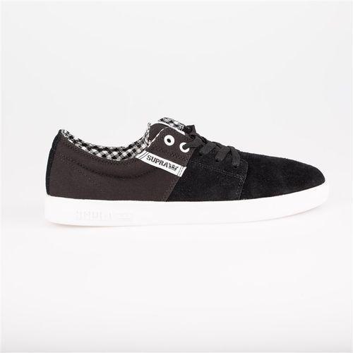 Męskie obuwie sportowe, buty SUPRA - Stacks Ii Black/White-White (050) rozmiar: 45.5