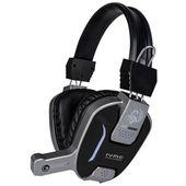 Marvo HG8952 - Słuchawki stereofoniczne dla graczy z mikrofonem + podświetlenie LED (czarny/srebrny)