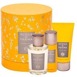 Acqua di Parma Colonia Pura zestaw Edc 100 ml + Żel pod prysznic 75 ml + Dezodorant 50 ml unisex