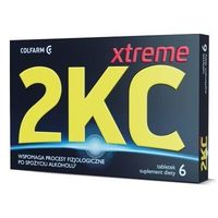 Preparaty na kaca, 2KC Xtreme x 6 tabletek